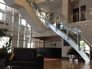 Lobby and Stairs - Criminal Law Attorney